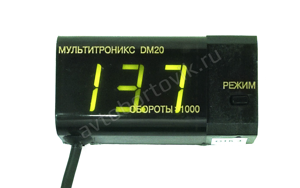 Тахометр Multitronics DM20