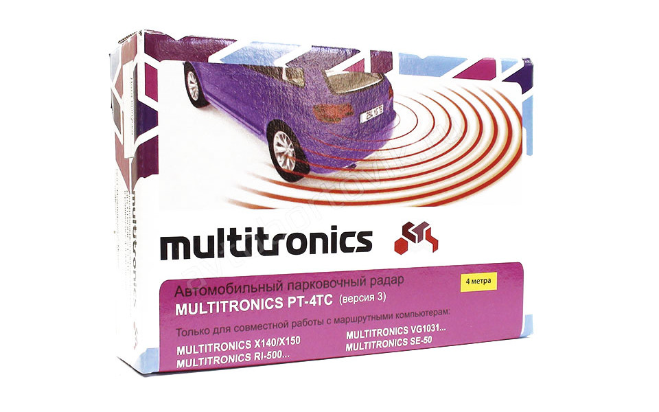 Парктроник Multitronics PT-4TC